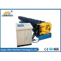 Best 17.5kW Gutter Downspout Machine Hydraulic Cutting 10-12m/min Production Speed wholesale