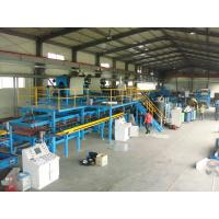 China Roofing / Wall Polyurethane Sandwich Panel Production Line With CE Certificate on sale
