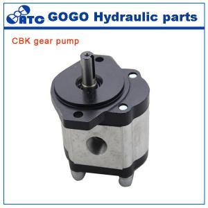 Quality Rotary CE CBK hydraulic gear pump , jcb tractor hydraulic fuel pump wholesale