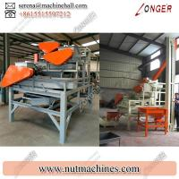 Best Buy Large Almond Cracking Machine / Automatic Nut Cracker for Sale wholesale