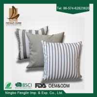 Best Home Indoor Decorative Modern Linen Canvas Sofa Throw Pillow Cushion Covers 43x43cm wholesale