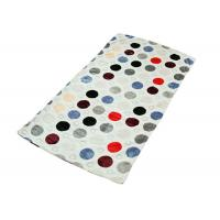 China Comfortable Personalized Small Dot Flannel Fabric Baby Blankets For Boys Tear - Resistant Made I n China on sale