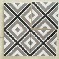 Buy cheap Living Room Decorative Glazed Ceramic Tile 3% Water Absorption Eco Friendly from wholesalers