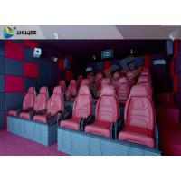 Best Hydraulic 5D HD Movie Theater With 55 inch displayer / 6 seats wholesale