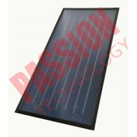Best Professional Flat Plate Collector , Flat Plate Solar Hot Water Collector Red Copper wholesale