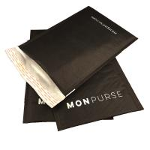 Quality Black Self Sealing Kraft Bubble Mailer Padded Envelope With Logo wholesale