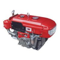 China L120 4 Stroke Diesel Crate Engines , Water Cooled Small Single Cylinder Diesel Engine 15hp on sale