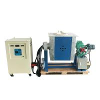 Best IGBT induction melting furnace, casting machine for steel, copper,  Alu, silver, polycrystalline silicon wholesale