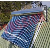 Best Indirect Loop Solar Power Hot Water System , Roof Mounted Solar Water Heater Pipes wholesale