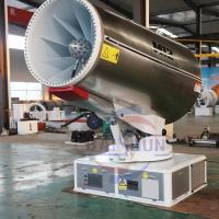 Best 80m Dust Suppression Water Cannons / Agriculture Dust Suppression Sprays wholesale