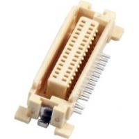 Buy cheap 0.635mm Female board to board power Gold-plated LCP Natural industrial from wholesalers