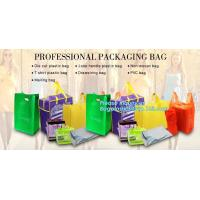China Hot Sale Promotional Tote Plastic Gift Shopping Non Woven Bag for Women, High quality price non woven bag with recycle p on sale