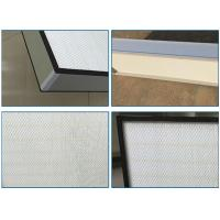 Best Top Side Gel Seal Clean Room HEPA Filters , Leak Proof High Flow HEPA Filter H14 wholesale