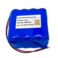 12.6V 8Ah rechargeable li-ion battery pack  for sweeper machine with high cycel life best quality approval