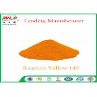 Best 180 Solubility Reactive Yellow Fabric Dye WDE C I Yellow 145 One Phase Printing Process wholesale