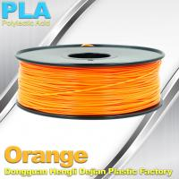 Best Biodegradable Orange PLA 3d Printer Filament  1.75mm Materials For 3D Printing wholesale