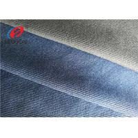 China Thick Polyester Spandex Twill Fabric , School Uniform Fine Knit Fabric on sale