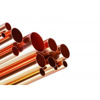 Best 100mm Round Copper Tube , Seamless Copper Pipe For Oil Transportation wholesale