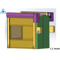 Cold Rolled Steel Cleanroom Air Shower , Air Shower Room With High Speed Shutter Doors