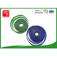 Best Fire Retardant Hook And Loop Fastener Tape , Self Adhesive Velcro Tape Roll wholesale