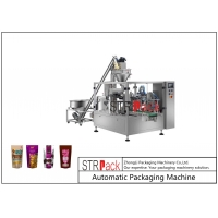 China CE approved  Doypack automatic flour filling milk powder packing machine on sale