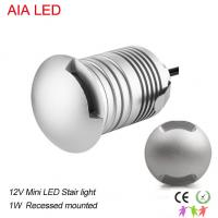 Buy cheap 3W aluminum silver LED underground light/LED inground lamp  for garden or stairs from wholesalers