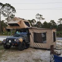 Best 3-4 Person Off Road Vehicle Awnings UV50+ Protection 1 Year Warranty wholesale