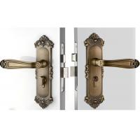 Best High Hardness Room Mortise Door Lock Antique Bronze Zinc Alloy Entracne Handle Lock wholesale