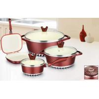 Best cookware set with energy-saving bottom nonstick cookware set aluminium cookware set wholesale