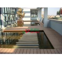 Best Anti - UV Hollow WPC Garden Decking Corrosion Resistance Convenient Processing wholesale