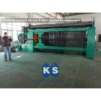 Best Double Rack Drive Gabion Machine / Hexagonal Wire Mesh Machine wholesale