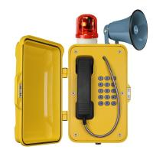 Best Waterproof Industrial VoIP Phone , Reliable Vandal Proof Heavy Duty Telephone wholesale