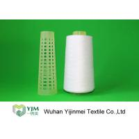 Best 2/60S Plastic Cone Spun Type High Tenacity Polyester Yarn High Twist For Sewing wholesale
