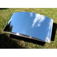 Best Exterior Decorative Polished Aluminum Plate , Silver Polished Aluminium Sheet wholesale