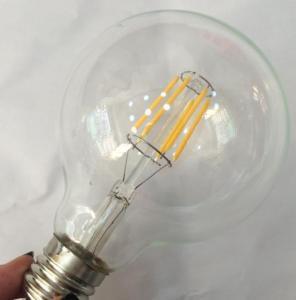 Best G95 LED Filament Edison Glass Bulbs light Dimmable E14/E26/E27/B22,4W/6W/8W,110v/220v,War wholesale