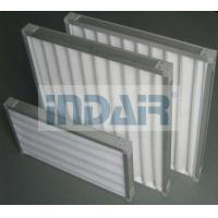 China Eco - Friendly Air Pre Filter Aluminium Zinc Plate Frame For HVAC System on sale