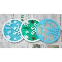 Best Hot sale product nice snow beautiful cup mat wholesale