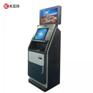 Best 300cd/m2 19 Inch 23.6 Inch Dual Screen Hotel Self Check In Kiosk wholesale