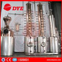 Best Automatic Vodka Gin Copper Distilling Equipment System Column wholesale