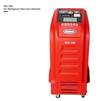 Best 5.4m3/H 1000W Gas R410A Mobile AC Recovery Machine With Condenser wholesale