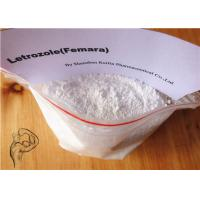 Anti Estrogen Bodybuilding Steroids Letrozole Femara White Powder CAS 112809-51-5