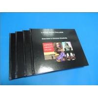 Best Commercial Black glossy paper Hardcover Coffee Table Book Printing Services wholesale