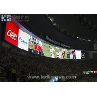 Best 60Hz Waterproof SMD3535 Stadium LED Display , P10 Outdoor LED Screen 1 / 2 Scan wholesale