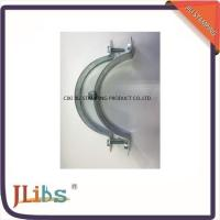 Quality Zinc Plated / Plastic Dipping Steel Q195 Galvanised Pipe Clamps 63mm - 315mm wholesale