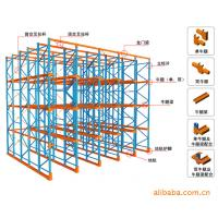 Best OEM 2-12 Levels Drive-in Pallet Racking System, Drive through Racking, 1000-11000mm Height wholesale