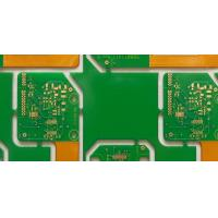 Best 0.6mm Immersion Gold FR4 / Polyimide 6 Layer FPC Custom PCB Board / Rigid Flex PCB For Industrial Control wholesale