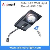 Best 30W Solar LED Wall Light Motion Activated Infrared Sensor Solar Garden Light with Bracket Arm Pole Remote Control wholesale