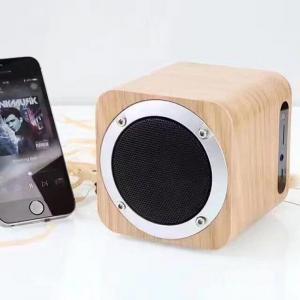 Best Wooden Wireless Bluetooth Speaker HIFI Subwoofer Portable Mini Speaker Multi-function Support TF Card/AUX/FM Radio wholesale