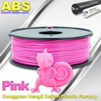 Best 1767C Pink Plastic Filament For 3D Printing Consumables Filament wholesale
