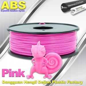 Best 1767C Pink Plastic Filament For 3D Printing Consumables Filament wholesale